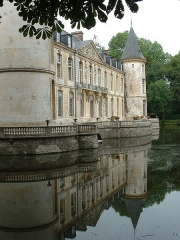 Domaine de Jean-Jacques-Rousseau -  The Chateau d\'Ermenonville about 40km outside Paris in the Picardie countryside where friends of mine held their wedding reception. Chateau d\'Ermenonville