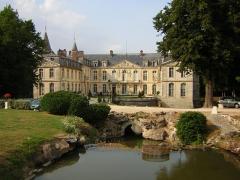 Domaine de Jean-Jacques-Rousseau -  Ermenonville, le château.