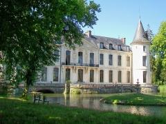 Domaine de Jean-Jacques-Rousseau - Français:   La façade nord du château sur le «Petit Parc».