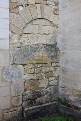 Eglise - Français:   Le Fay-Saint-Quentin - Eglise Saint-Laurent, porte du mur Nord