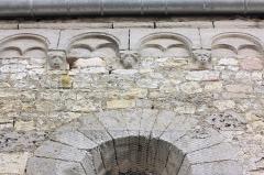 Eglise - Français:   Le Fay-Saint-Quentin - Eglise Saint-Laurent, détail du mur Nord (corniche beauvaisine)