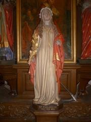 Eglise Sainte-Marie-Madeleine de Maignelay - Français:   Statuette de Sainte Philomène dans l\'église Sainte-Marie-Madeleine à Maignelay-Montigny (60).