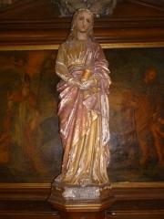 Eglise Sainte-Marie-Madeleine de Maignelay - Français:   Statuette de Sainte Marie-Madeleine dans l\'église Sainte-Marie-Madeleine à Maignelay-Montigny (60).