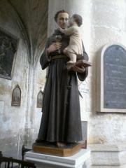 Eglise Saint-Martin de Montigny - Français:   Intérieur de l\'église Saint-Martin de Montigny situé sur la commune de Maignelay-Montigny (Oise). Saint-Antoine-de-Padoue