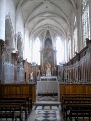 Eglise Saint-Martin de Montigny - Français:   Intérieur de l\'église Saint-Martin de Montigny situé sur la commune de Maignelay-Montigny (Oise)
