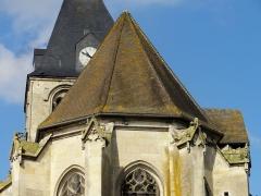 Eglise Notre-Dame de la Nativité - Français:   Détail du chevet.