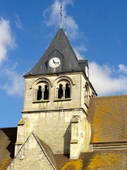 Eglise Notre-Dame de la Nativité - Français:   Clocher, côté sud.