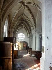 Eglise Notre-Dame de la Nativité - Français:   Bas-côté sud.