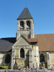 Eglise -  Église Saint-Vaast de Nointel (voir titre).