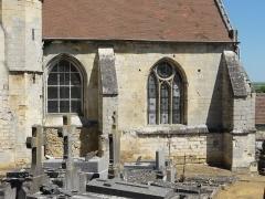 Eglise -  Collatéral sud du chœur.