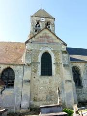 Eglise -  Croisillon nord et clocher.