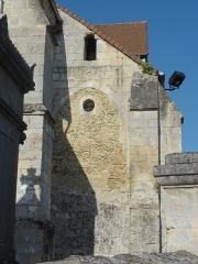 Eglise -  Chevet de la sacristie.