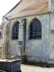 Eglise -  Sacristie, côté nord.