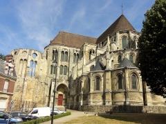 Ancien évêché - Cathédrale Notre-Dame, vue extérieure - voir le titre du fichier.