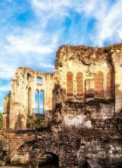 Ancien évêché - Deutsch: Noyon, Ruine der bischöflichen Kapelle
