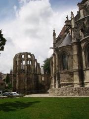 Ancien évêché -  Ruines à coté Cathédrale de Noyon