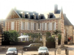 Maisons canoniales - English: Noyon, house of the canons