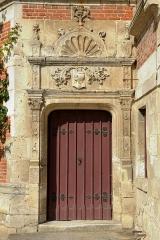 Château - Français:   Porte du château du Plessis Brion