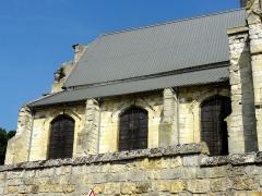 Eglise - Français:   Nef, côté sud.