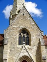 Eglise Saint-Crépin et Saint-Crépinien - Français:   Église Saint-Crépin-et-Saint-Crépinien de Saint-Crépin-Ibouvillers - voir titre.