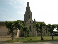 Eglise Saint-Crépin et Saint-Crépinien - Français:   église à Saint-Crépin-Ibouvillers