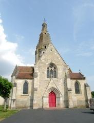 Eglise Saint-Crépin et Saint-Crépinien - Français:   église de Saint-Crépin-Ibouvillers