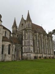 Eglise et chapelle - Français:   extérieur de l\'Abbaye Saint-Germer-de-Fly
