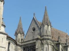 Eglise et chapelle - Français:   Sainte-chapelle de Saint-Germer-de-Fly - voir le titre du fichier.
