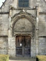 Eglise - Français:   Portail occidental.