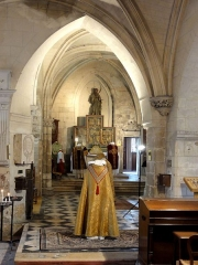 Eglise - Français:   Chœur nord.