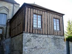 Ancienne cathédrale et son chapître - L'ancienne bibliothèque du chapitre à Senlis, Oise, France.