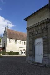 Ancien château royal, prieuré Saint-Maurice et mur gallo-romain -  Senlis