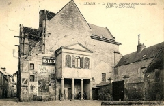 Eglise Saint-Aignan - Français:   L\'ancienne église Saint-Aignan en tant que théâtre municipal.