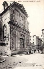 Ancien Hôpital de la Charité - Français:   La chapelle de l\'ancien hôpital de la Charité, rue de Meaux / rue de la Poterne.