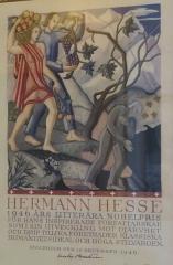 Ancienne poste aux chevaux - Italiano: certificato di attribuzione Premio Nobel per la letteratura 1946-parte2