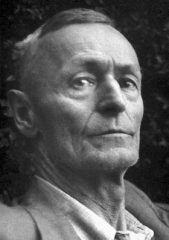 Ancienne poste aux chevaux - English: Hermann Hesse, Nobel laureate in Literature 1946