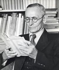 Ancienne poste aux chevaux - English: Hermann Hesse