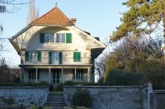 Ancienne poste aux chevaux - Deutsch: Das von Hermann Hesse gemietete Landhaus am Melchenbühlweg 26, Bern, Südseite