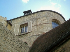Enceinte gallo-romaine - Français:   Enceinte gallo-romaine, tour n° 20 ou de la Chancellerie, à l\'arrière de l\'hôtel du même nom, rue de la Treille, près de la Fausse porte.
