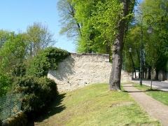 Enceinte gallo-romaine - Français:   La plate-forme du Montauban, extrémité nord du rempart des Ôtages.