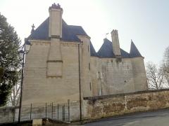 Château - Français:   Façade septentrionale, rue de la Forêt.