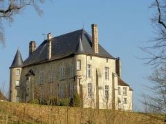 Château - Français:   Vue depuis le sud-ouest.