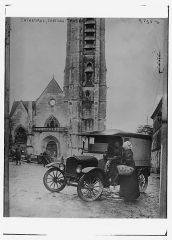 Eglise Saint-Crepin - Bain News Service,, publisher.  Cathedral, Chateau Thierry  [between ca. 1915 and ca. 1920]  1 negative: glass; 5 x 7 in. or smaller.  Notes:  Title from unverified data provided by the Bain News Service on the negatives or caption cards. Forms part of: George Grantham Bain Collection (Library of Congress).  Format:  Glass negatives.  Rights Info:  No known restrictions on publication.  Repository:  Library of Congress, Prints and Photographs Division, Washington, D.C. 20540 USA, hdl.loc.gov/loc.pnp/pp.print  General information about the Bain Collection is available at hdl.loc.gov/loc.pnp/pp.ggbain  Higher resolution image is available (Persistent URL):  hdl.loc.gov/loc.pnp/ggbain.27697  Call Number:  LC-B2- 4735-6