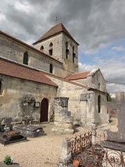 Eglise - English: Chivy-lès-Étouvelles (Aisne) Église Saint-Pierre-aux-Liens