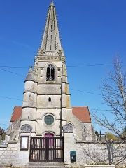 Eglise - Français:   Église Saint-Rémi de Coucy-la-Ville