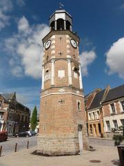 Ancien beffroi dit Tour de Crecy - English: Crécy-sur-Serre (Aisne) beffroi