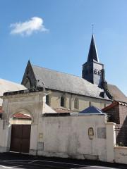 Eglise Notre-Dame - English: Crépy (Aisne) église Notre-Dame