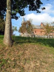 Eglise -  Cuiry-lès-Iviers (Aisne, France) -    L'église fortifiée (2ème talus Sud).