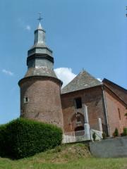 Eglise -  Autre vue de l'église de Cuiry les Iviers
