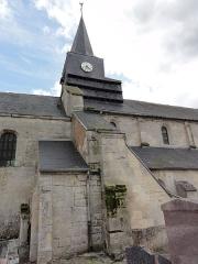 Eglise - English: Étouvelles (Aisne) Église Saint-Martin